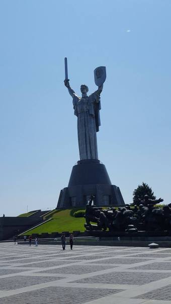 Motherland - Ukrainian Statue of Liberty